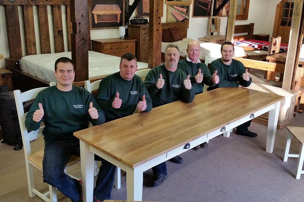 About Roy Walker Furniture Manufacturers Of Reclaimed Wood