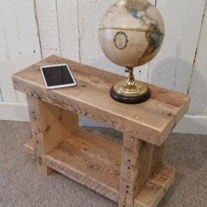 brand new f4bff 53ace Birmingham Rustic Bedside Table