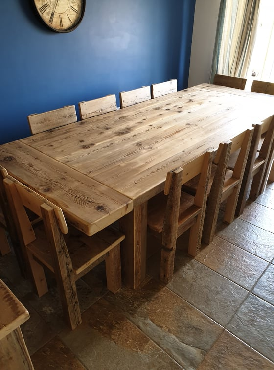 Reclaimed Wood Furniture Roy Walker Furniture